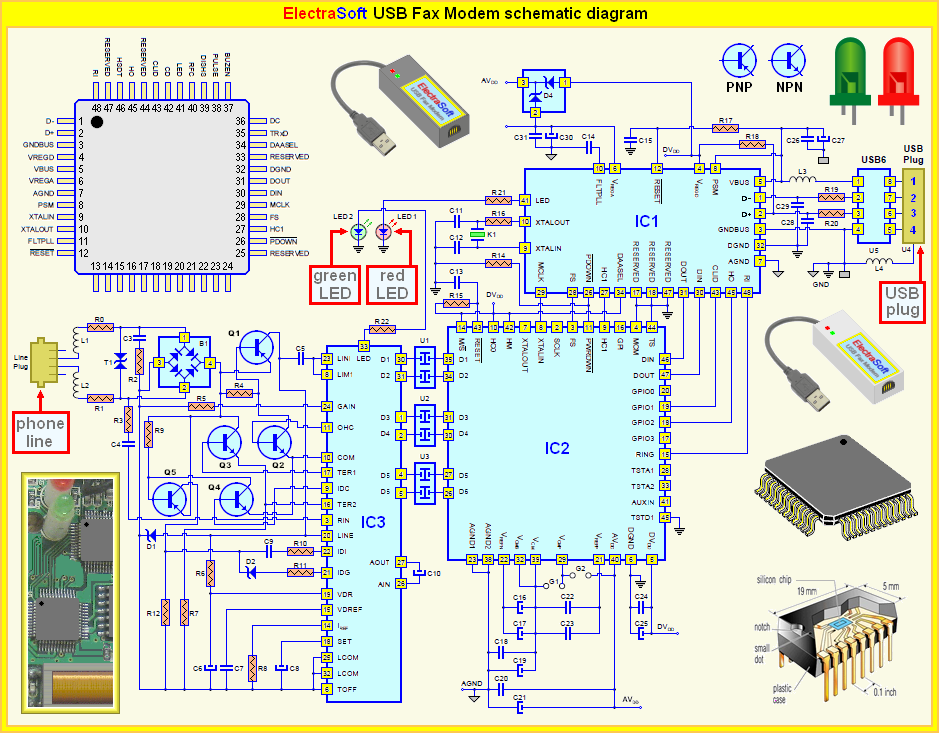 Schematic Diagram and Images