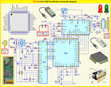 ElectraSoft USB Fax Modem schematic diagram. Click to enlarge...